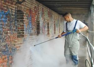 graffiti stadsmuur waterkracht 2