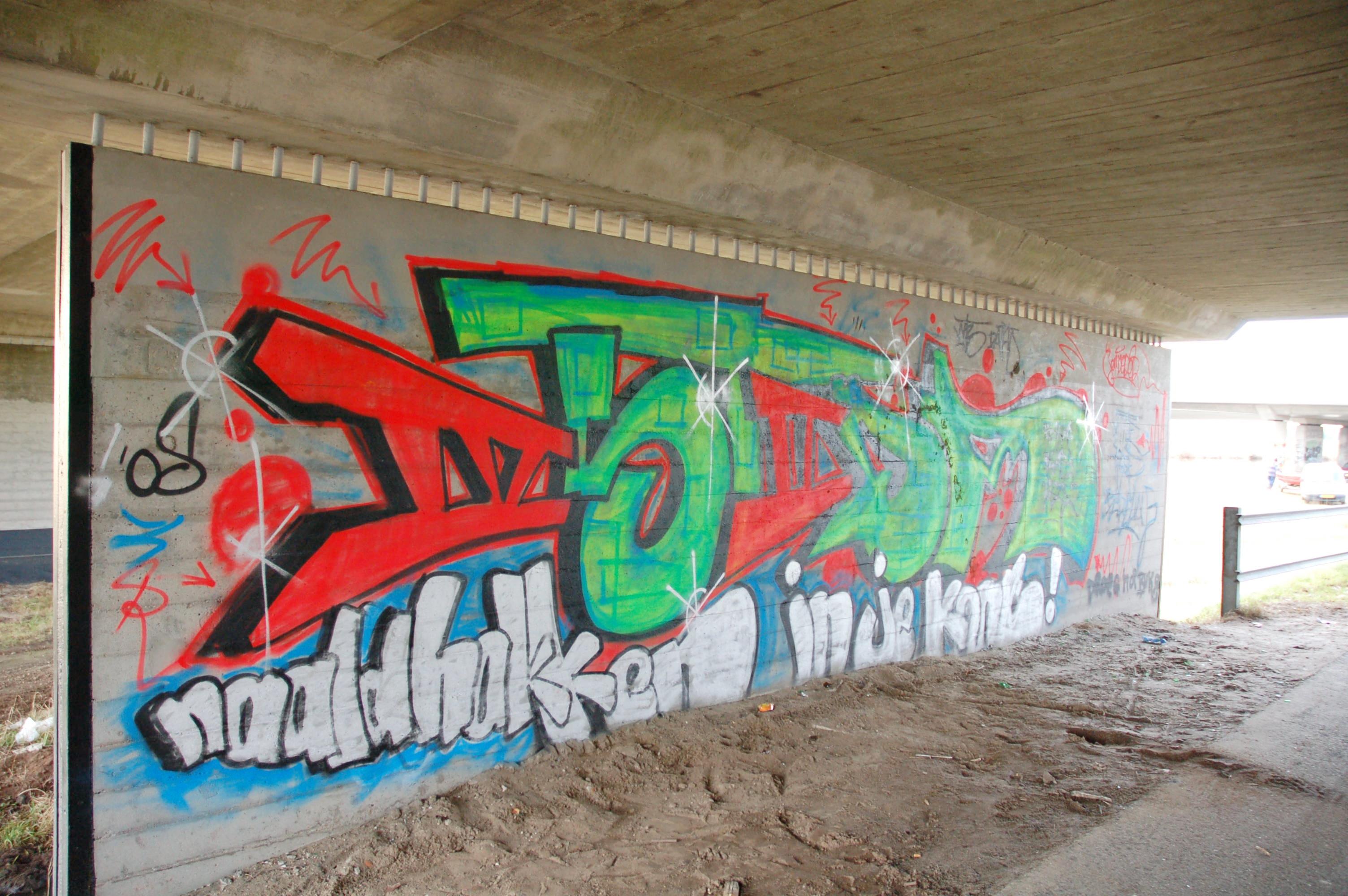 graffiti berkummerbrug